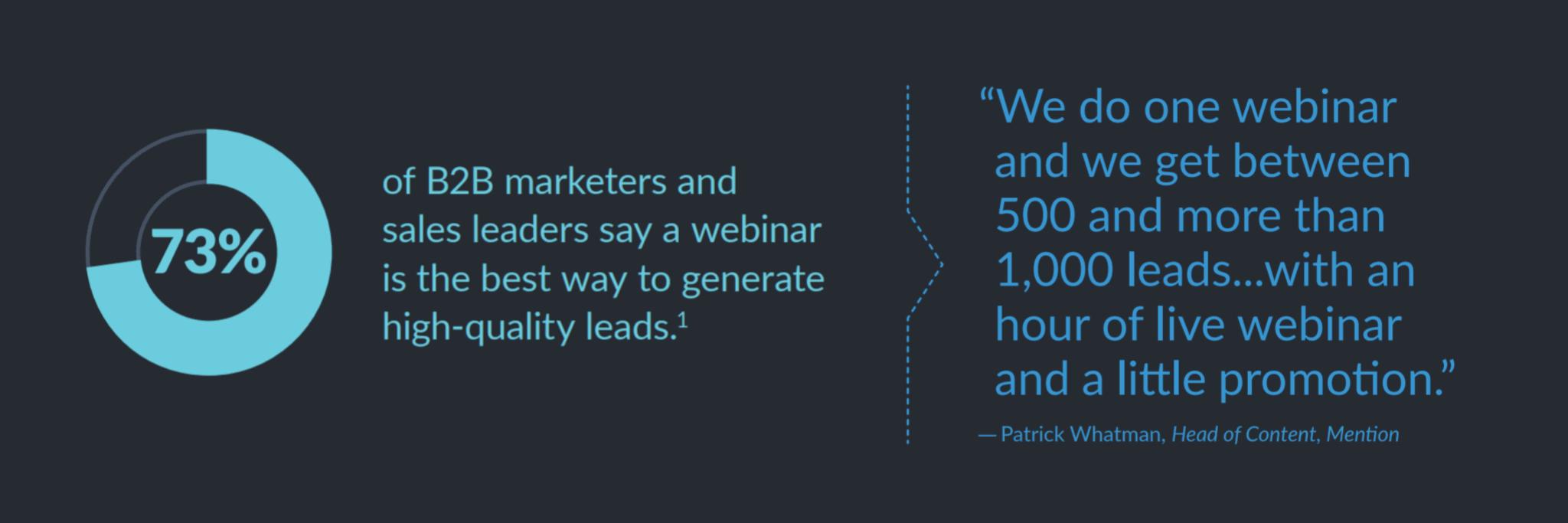 73% B2B Marketers | SLN-Solutions